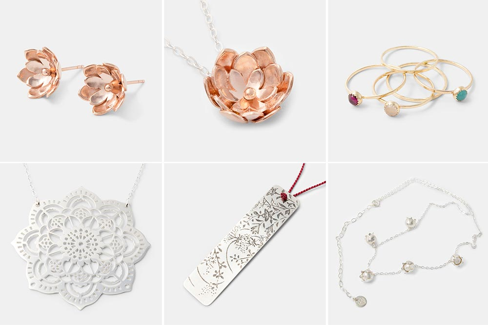 Set 1: high resolution images of Simone Walsh Jewellery