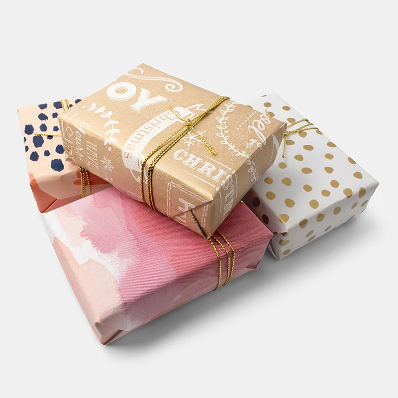 Gift wrapping of your Christmas and birthday gift orders is now available.