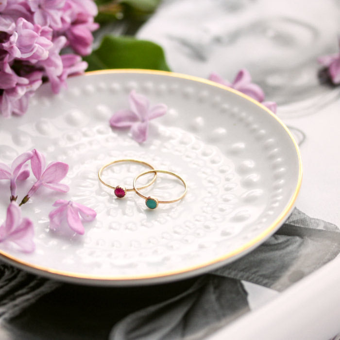 How to clean your sterling silver and gold jewellery.