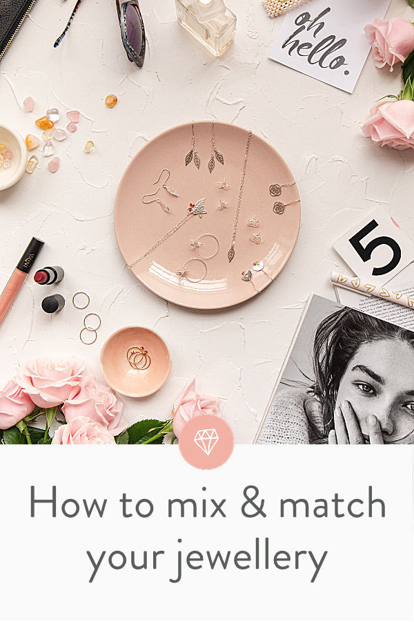 How to mix and match your jewellery in style.