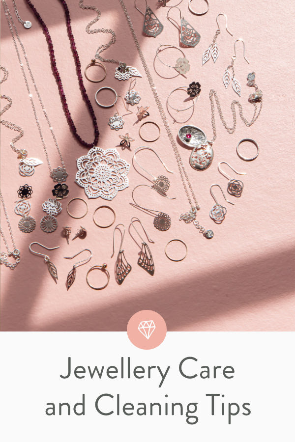 Top jewellery care and cleaning tips to keep your precious jewellery sparkling clean for years to come. Top tips from a jewellery design professional.