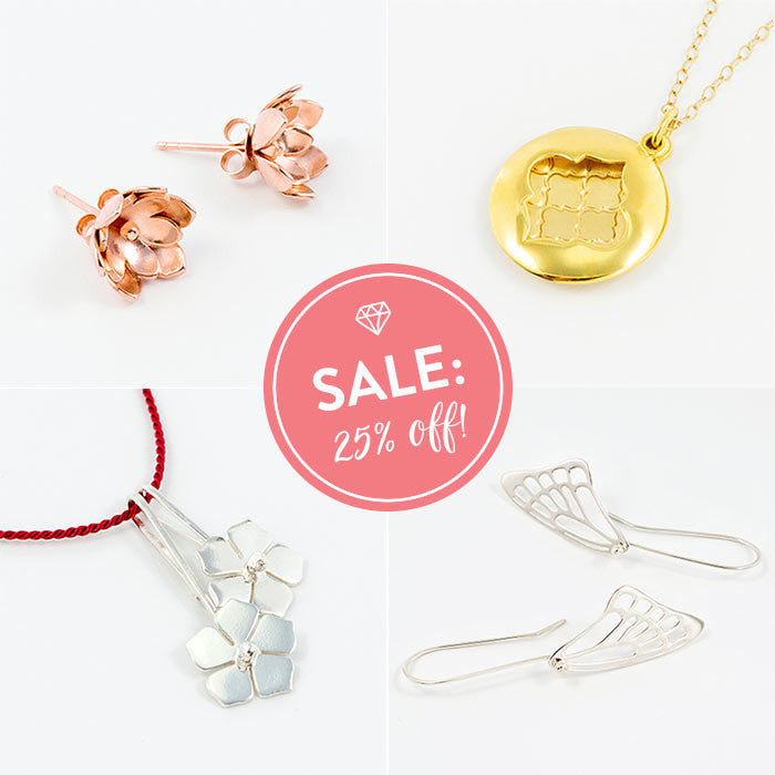 Jewellery sale: all Australian jewellery in the online shop is on sale!