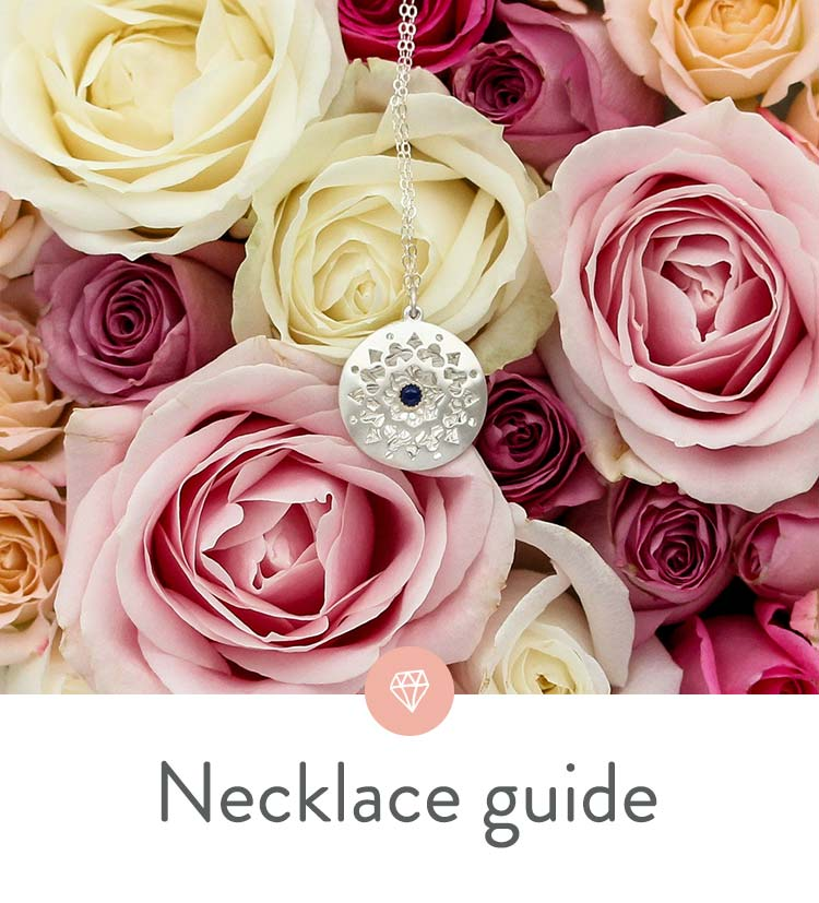 Handy Necklace Length Style Guide With Measuring Tips Chart