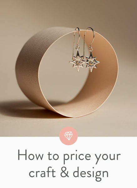 How to professional price your craft, art and design: part 1