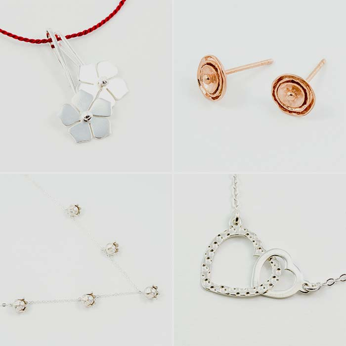 Romantic jewellery to show your love this Christmas in our online store, Australia