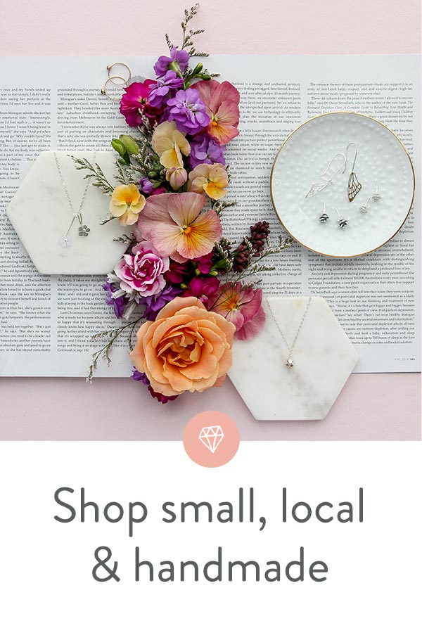 Shop small, shop local and shop handmade this Christmas - and all year around. Jewellery Australia online store.
