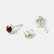 Rose cut garnet stud earrings in our Australian online jewellery store.
