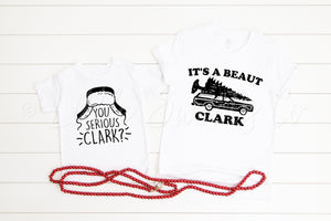 Mommy and Me Christmas Vacation Shirts