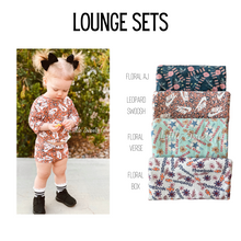 Load image into Gallery viewer, Branded Rib Knit Lounge Set