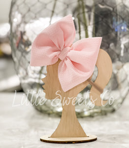 Baby Pink Allison Bow