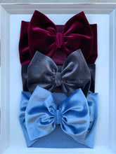 Load image into Gallery viewer, Burgundy Velvet Headwrap