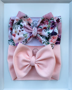 Peachy Blush Headwrap