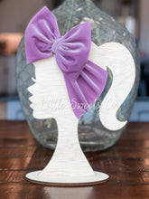 Load image into Gallery viewer, Lavender Velvet Headwrap