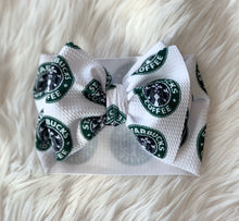 Load image into Gallery viewer, Starbucks Big Bow Headwrap