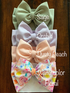 Dusty Peach Headwrap