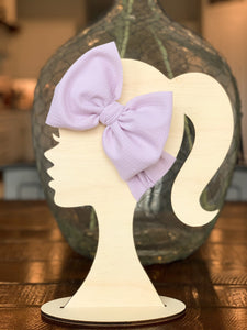 Orchid Headwrap