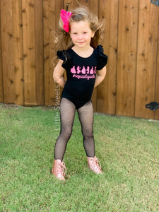 Personalized/Customized Princess Squad Flutter Sleeve DANCE Leotard