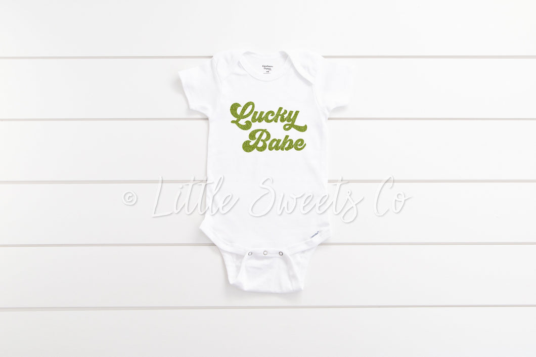 Lucky Babe Bodysuit/T-Shirt
