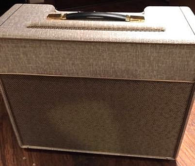 in the vein of the early British amp designs with modern updates to make it more playable and gig-able.  Larger transformers and a more capable power supply provide for an effortless musical experience.