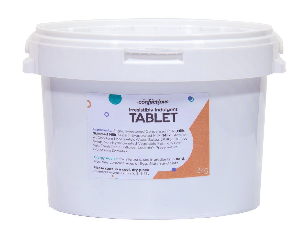 Scottish Irresistibly Indulgent Tablet 2kg Tub