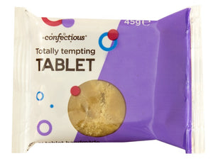 Scottish Totally Tempting Tablet 45g Bar Confectious