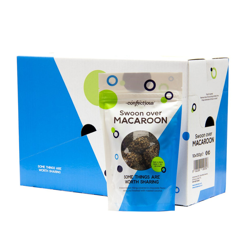 Scottish Swoon over Macaroon 150g Sharing Bags x 10
