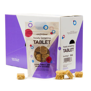 Scottish Totally Tempting Tablet 10 x 150g Bags