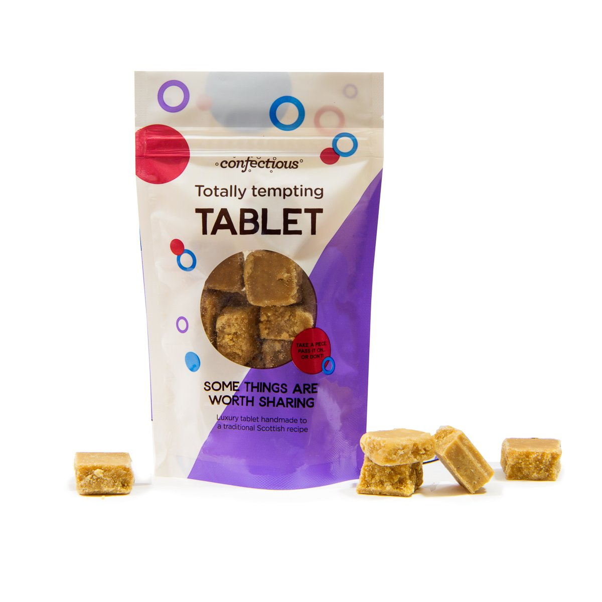 Scottish Totally Tempting Tablet 150g Sharing Bag
