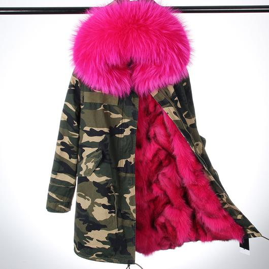 Camo winter jackets