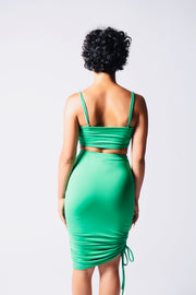 Emerald two piece