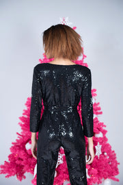 Jazz Sequin Jumpsuit