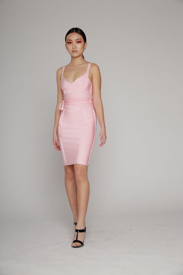 Daisy Bandage Pink Dress