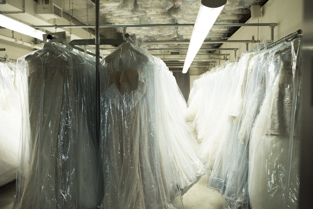 Should I dry clean my wedding dress after the wedding?