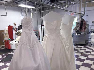 How Much Does it Cost to Get Your Wedding Dress Dry Cleaned?