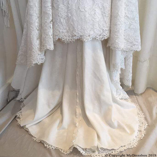 After Wedding Dress Repair, Clean and Box (Katie)