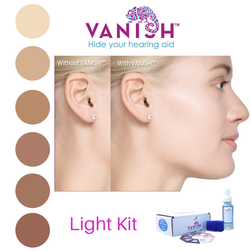 VANISH Light Dye Kit for hearing aids - Vanish - Hide Your Hearing Aid