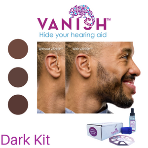 VANISH Dark Dye Kit for Hearing aids