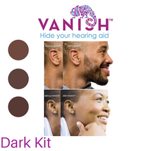 VANISH Dark Dye Kit for Hearing aids - Vanish - Hide Your Hearing Aid