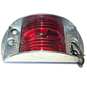 Peterson Steel Armored Red Clearance Marker Light 119R NOS