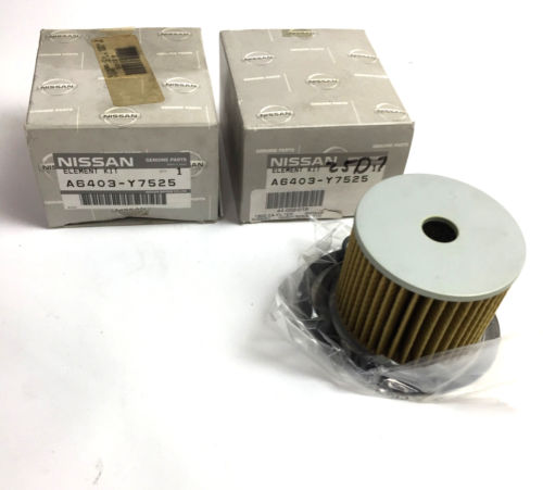 Nissan Air Filter Element A6403-Y7525 (3in Lot) OEM NOS