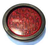 Grote Auxiliary LED Strobe w/ Red Lens & Rubber Gasket 7735 NOS