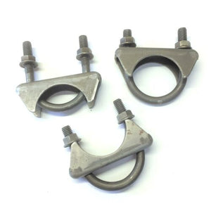 "Nickson Ind. ""GM Style"" 1-3/4"" Heavy Duty Muffler Clamp 85034 [Lot of 3]"