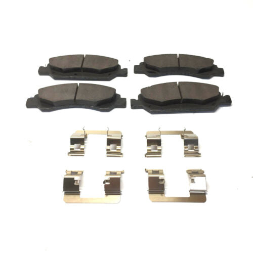 General Motors GM Front Brake Pad Set w/ Clips 25918341 NOS