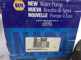 NAPA 555049 New Water Pump Genuine ( USA ) 55 5049 NOS
