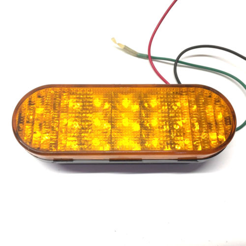 Federal Signal LED Oval 4x Warning Light 605501-02