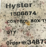 Hyster 24DVC Twistlock Light Control Box 1506674 NOS