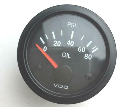 VDO 2-1/16 in Electric 0-80 psi Cockpit Oil Pressure Gauge 350-010