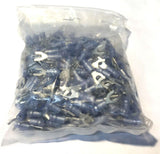 Molex Fork Terminal #10 Stud 16-14 Heat Shrink Insulated Large Bundle 32820 NOS