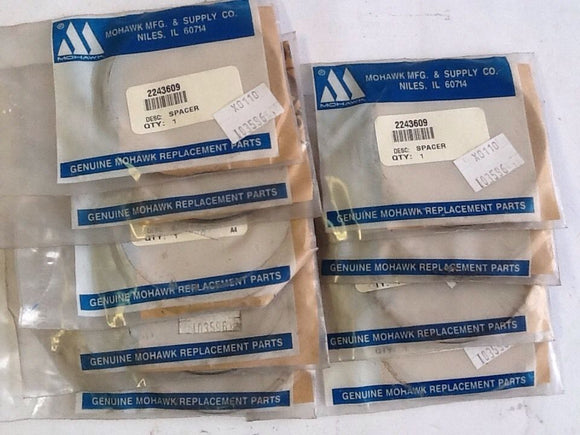 Mohawk 2243609 Differential Pinion Shaft Bearing Spacer [9 IN LOT] NOS