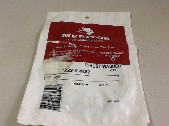Meritor 1229K4457 Thrust Washer OEM NOS